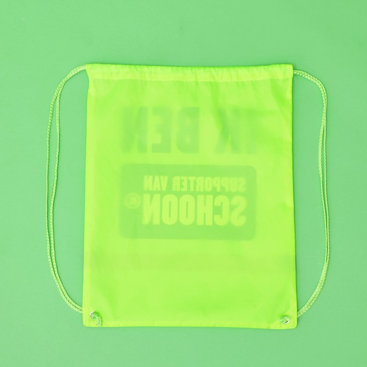 Promotional gift Gym sport Polyester Canvas Drawstring Bag