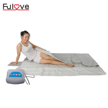 3 zones digital control benefits body wrap hot thermal slimming detox portable fir far infrared sauna blanket for weight loss