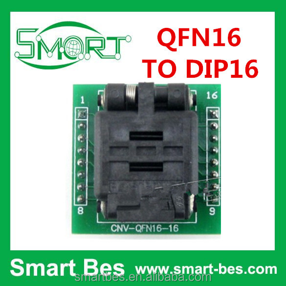 Smart Electronics High Quality and durable, Hot selling, QFN16 TO DIP16, Programmer Adapter, inverter power