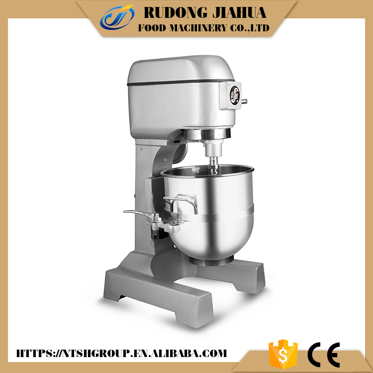 CE Standard stainless steel double speed40 litre planetary mixer machine food mixers with safety guard