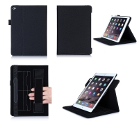 Multi Function PU Flip Case with Visiting Card Holder for iPad Air 2 with Stand