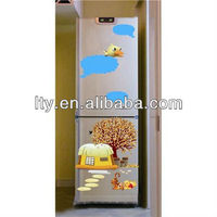 (Factory Direct Sale) kawaii fridge door cover decals sticker for home decoration(M-A24)
