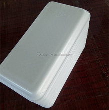 Fruit foam disposable containers food packaging trays