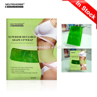 Wholesale Cellulite Fat Burner Sauna Plastic Wrap Slimming Shape Up Wrap Waist Body Plastic Slimming Waist Belt Beauty