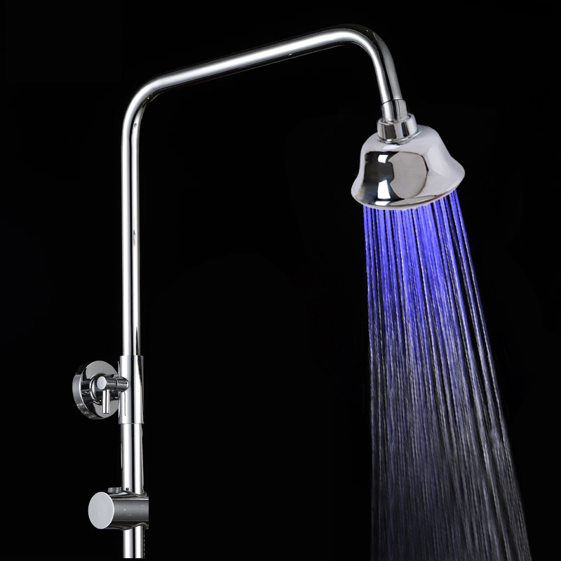 Best Selling Product Shower Bathroom Fauce Rian Shower Head Led With Water Saving