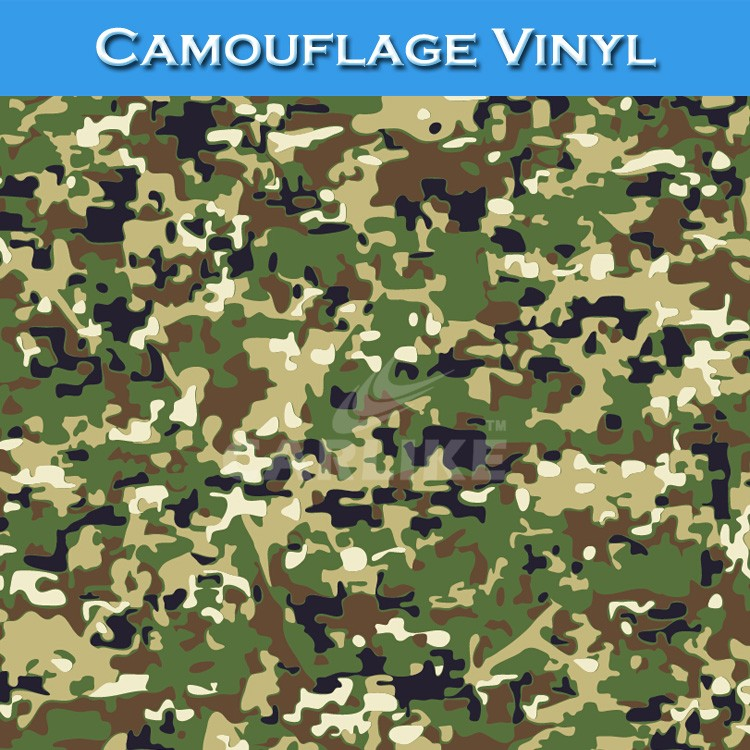 CARLIKE 1.52*30m In Stock Stickers Camouflage Foil Car Wrap Paper