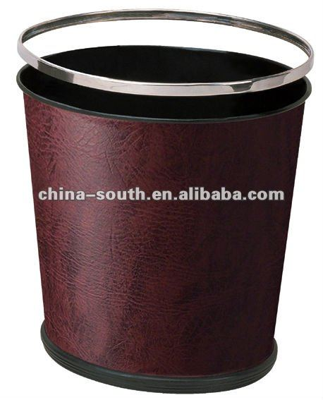 GPX-179 Hotel room leather Waste bin