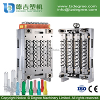 hot runner system needle valve plastic pet preform making mould with 32cavity