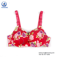 32 Size Bra Pictures Red Lingerie Women Push Up Sexy Padded Floral Custom Sexy Girl Bra
