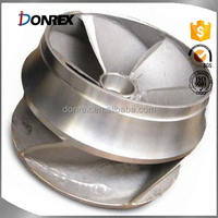 custom cast steel Impeller with VRH Combined Hardening with ISO 9001 made in China