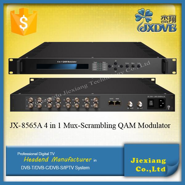dvb c ip qam modulator 4 in 1 mux scrambling asi to rf modulator buy ip qam modulator asi to. Black Bedroom Furniture Sets. Home Design Ideas