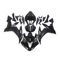 Full Fairings For Yamaha YZF R1 2002 2003 ABS Plastic Injection Motorcycle Fairing Kit Body Kits Black Grey Decals