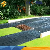 10mm hdpe sheet/composite portable road mats/temporary event flooring mats