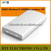 full test 300M realtek chipset with 1000Mw Outdoor AP/CPE/Bridge wireless transmitter router wimax booster cell phone antenna