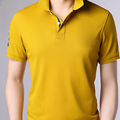 new standard cotton polo t-shirt 100% cotton pique 180g embroidered