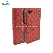 Leather Case for Apple Iphone 4, for iphone 4s case, for iphone case
