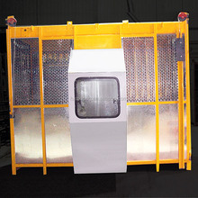 Widely Used Construction Elevator, 100m Height,66 Mast Sections Single Cage 2*1tons, Elevator Building Elevators