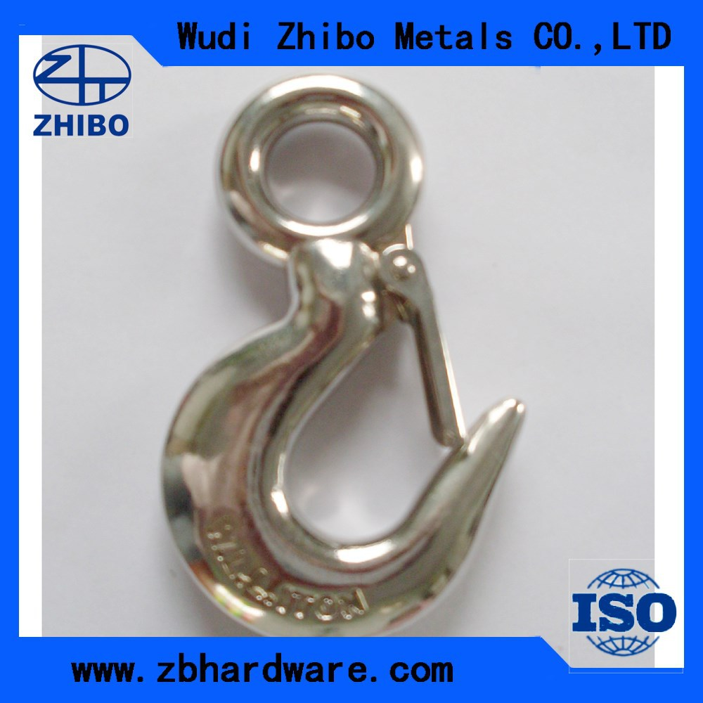 high quality chrome rigid eye snap hook