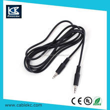 stereo cable to RCA audio video cable for car audio system