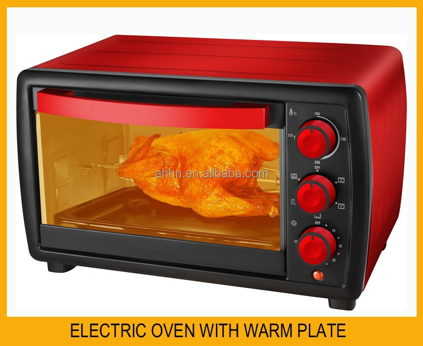 Freestanding electric oven for toaster bakery food