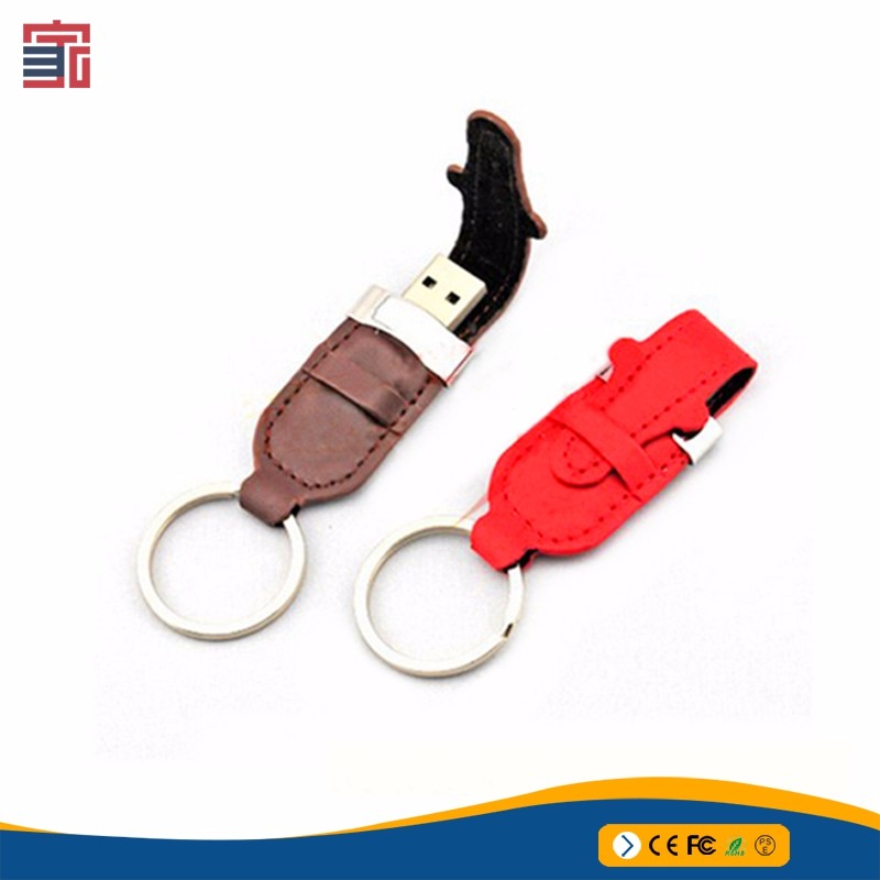 China supplier usb flash drive leather