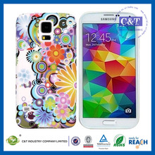 Top sale phone case beautiful customized for samsung galaxy s5 silicone case