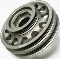 cnc machining aluminum pulley wheels, crankshaft pulley for motorcycle