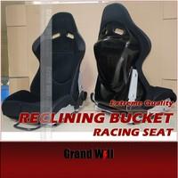 Carbon Fiber/ Fiberglass Reclining Bucket Sport Racing Seats/ SPG & SPS