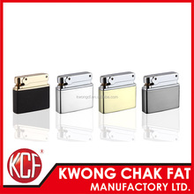 KCF-155 promotion metal square gas lighter