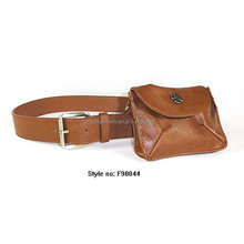 Fashion PU Leather Waistband With Leather Bag Belt For America Market