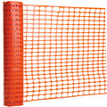 100mm*26mm Hole Size Orange Safety Barrier Plastic Mesh Fence