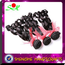 2015 wholesale indonesia human hair extensions spring curly hair