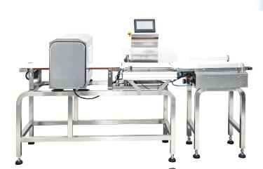 Combined Checking Weigher and Metal Detector