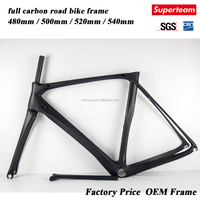 carbon road bicycle frame china bicycle frames 52CM carbon road bike frame BB30