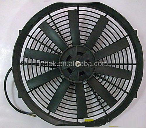 universal auto car cooling condenser fan