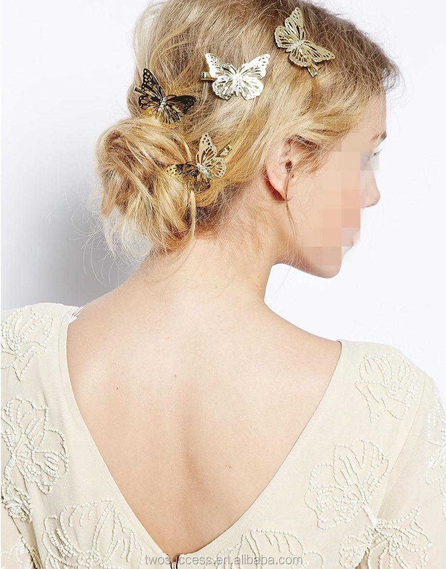 Korean style for girls hair accessory lovely butterfly hair clips (2).jpg