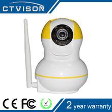 2016 hot New products Promotion personalized Cucumis 720p p2p network camera yellow color
