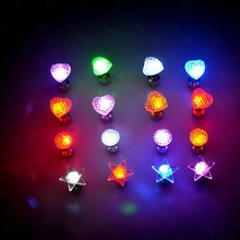 led earring Red colord led earring party favor led blinking earring