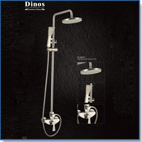 Factory best price thermostatic indoor hand portable bathroom bath rain shower