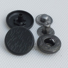 factory wholesale metal spring snap buttons for fur coat