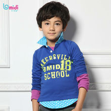 2013 new style fashion garment boy's long sleeve polo shirt