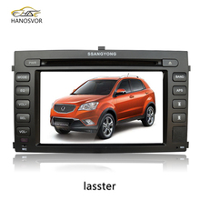Change language for ssangyong rexton car dvd with car radio dvd player gps system
