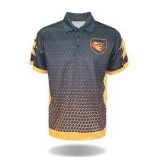 Custom <strong>Design</strong> Golf Polo Shirts Sublimated Bowling Shirts