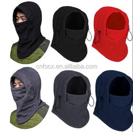 Motorcycle Racing Face Mask Neck Helmet Cap / Neck Warmer Winter Fleece / Wind Mask