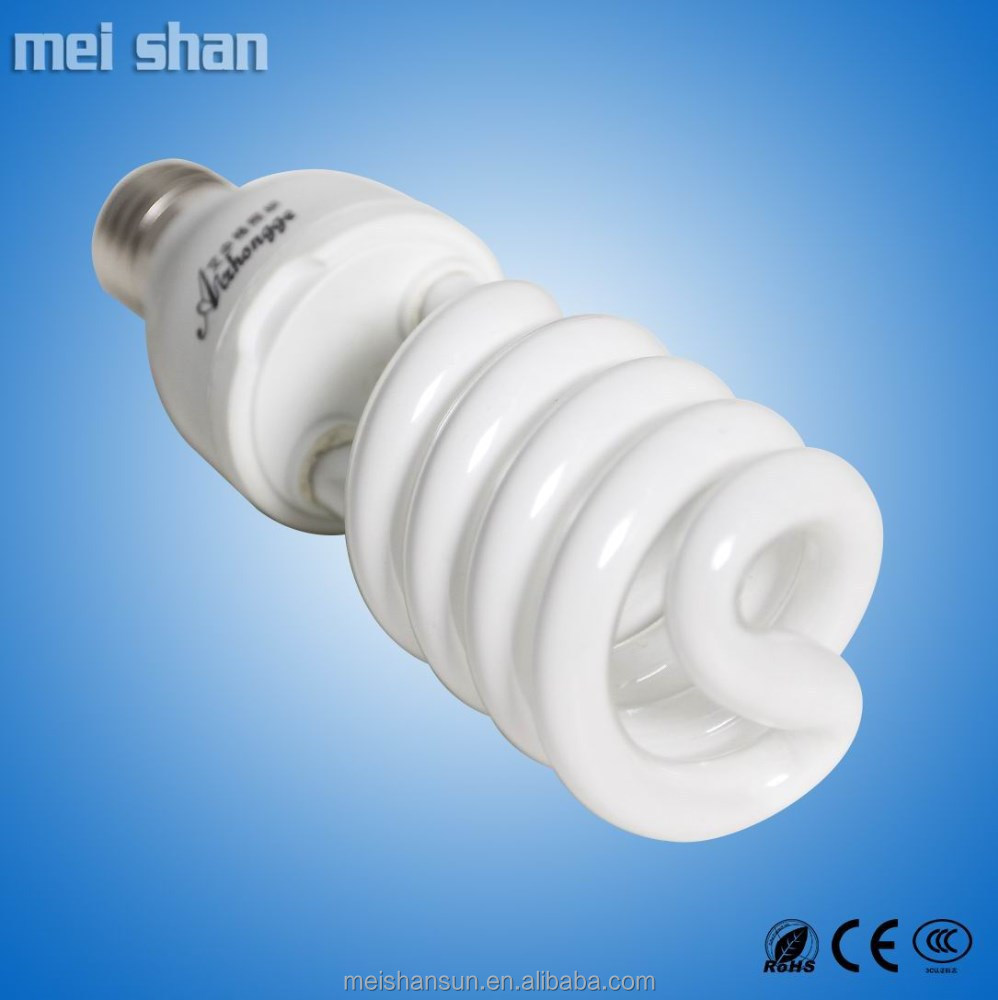 26W half spiral CFL T4-12mm tube light energy saving light