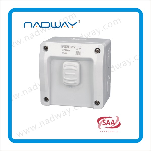 Hot Sell for Weatherproof Switches and Sockets with SAA approved