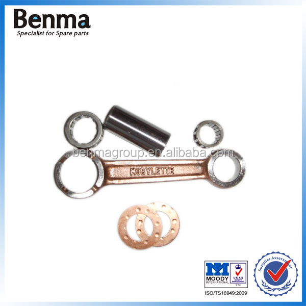 Motorcycle connecting rod in 20CR material, MOBYLETTE Connecting Rod Kit for motorcycle, engine Connecting rod kits