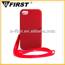 For iPhone 4S iPhone 4 hard sliding case with clip