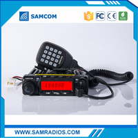 SAMCOM AM-400UV dual band ham mobile radio with FCC Approval,50W/40W big power