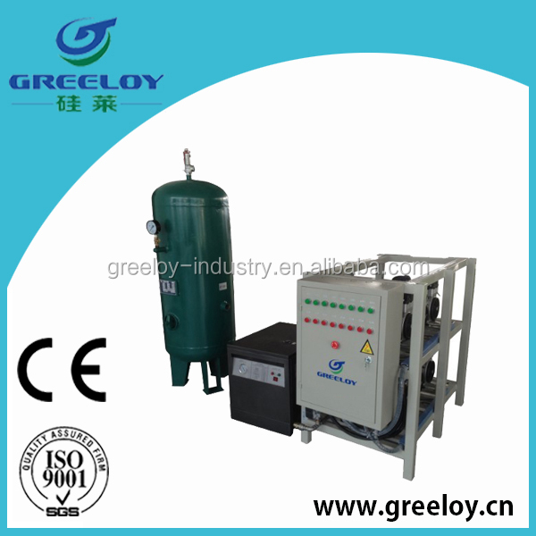 500l big tank high flow air compressor italy for gas station